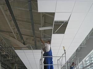 Потолки Armstrong установлены в Крытом конькобежном центре «Адлер-Арена»