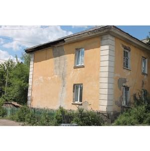 Народный фронт в Хакасии взял на контроль ситуацию с расселением аварийного дома в Черногорске