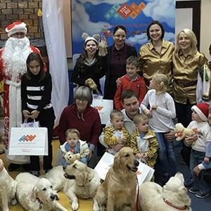 Илгизя Шарафиева: TOY.RU поддержал Рождественскую елку Солнечного пса