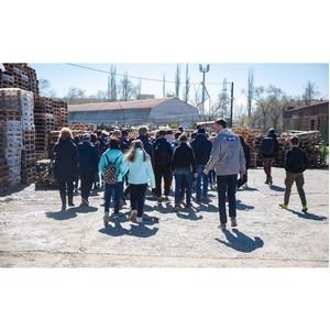 Волгоградские активисты ОНФ провели экскурсии для школьников на предприятия региона
