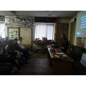 Сопредседатель штаба ОНФ в Амурской области провел «уроки мужества» для студентов Благовещенска