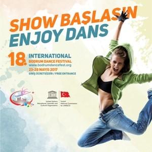 Российские волонтеры принимают участие в 18-м Международном фестивале танца в Бодруме