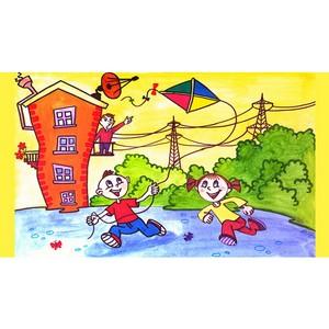 Рисунки кузбасских школьников отправятся в Красноярск