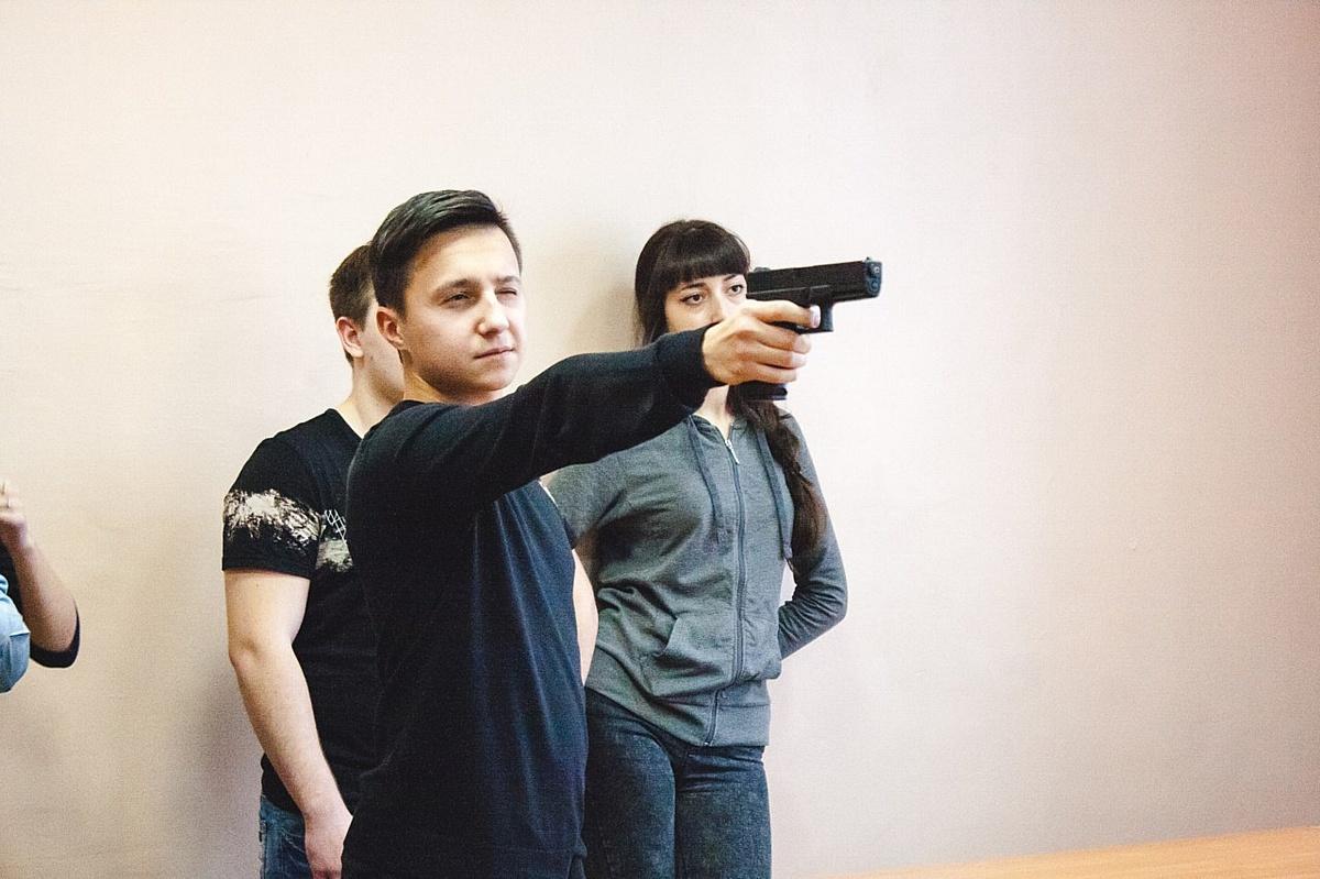 В РАНХиГС состоялся третий этап академической спартакиады — соревнования по стрельбе