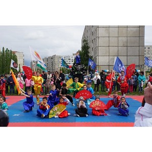 За радостное детство:в Уфе состоялся конно-спортивный праздник