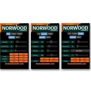 Norwood Sawmills представляет новое мобильное приложение «Калькулятор Sawmill»