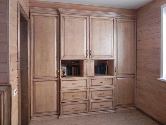 Шкафы из дерева от производителя АК-Мебель
