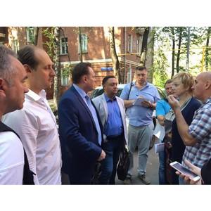 Московские активисты ОНФ добиваются решения проблем жителей общежития на улице Верейской
