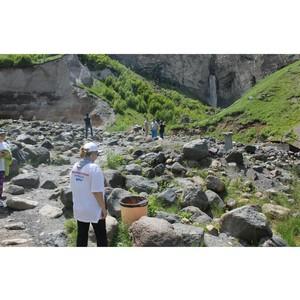 Эксперты ОНФ провели мониторинг экологического состояния урочища Джилы-Су в КБР