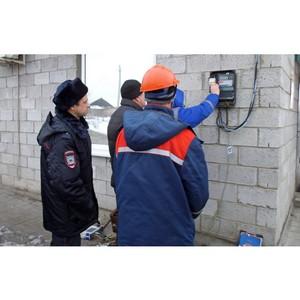 Специалисты Тамбовэнерго совместно с правоохранительными органами пресекли хищение электроэнергии