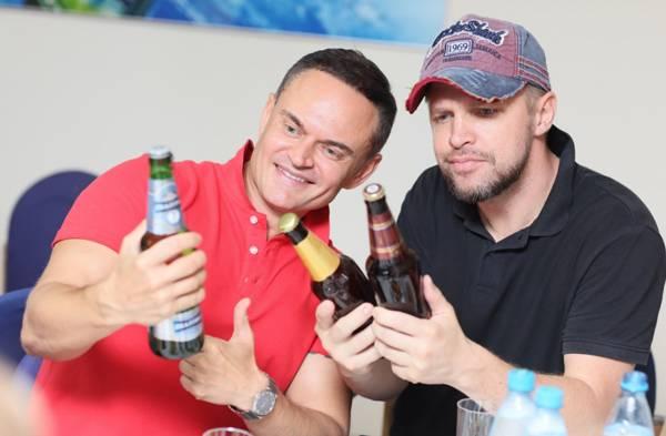 Сотрудники Генерального Консульства ФРГ в Новосибирске высоко оценили качество пива «Балтики»