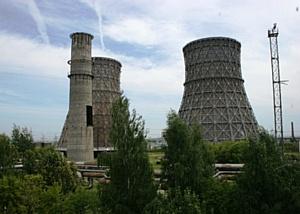 На Чебоксарской ТЭЦ-2 «Т Плюс» ведется демонтаж первой дымовой трубы