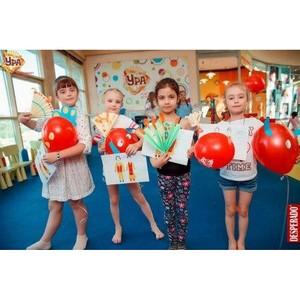 Расширяем границы творчества в клубе детских увлечений «Ура» в ТРЦ «Аура»