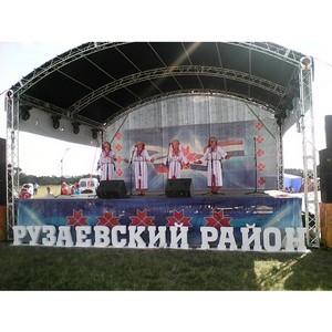 Красочный хоровод мордовского фестиваля «Кургоня» объединил труд и национальности