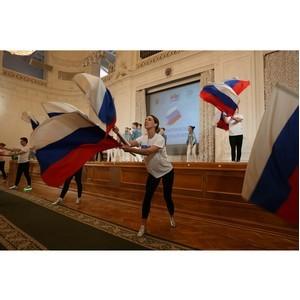 Молодые гости и жители Петербурга собрались на VI патриотическом молодежном форуме