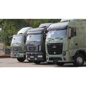 Тестирование «умного» грузовика МАЗ