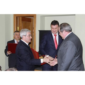 Коллектив «Липецкцемента» награжден за заслуги перед городом Липецком