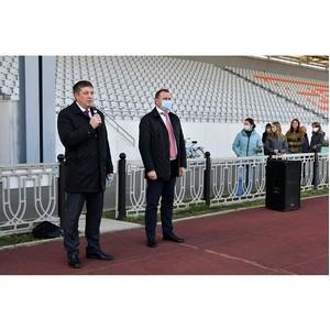 На стадион Уралвагонзавода вернулся большой футбол