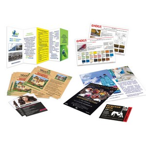 Предлагаем печать и изготовление всех видов папок из картона и пластика