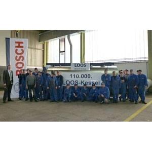 110 000-й котел производства  Bosch Industriekessel отправляется в Россию