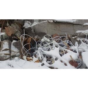 Активисты ОНФ в Томской области обнаружили в лесном массиве свалку опасных медицинских отходов
