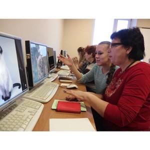 Тамбовские пенсионеры постигают компьютерную грамотность