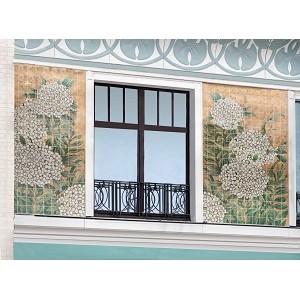 Фасады комплекса «Театральный Дом» украсят панно в стиле модерн