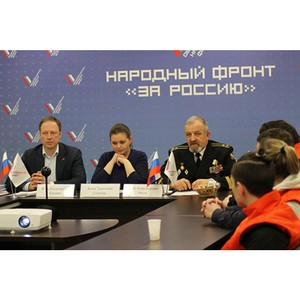 Активисты ОНФ в Санкт-Петербурге приняли участие в работе телемоста «Вспомним всех поименно»