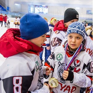 В Ижевске при поддержке БФ «Сафмар» М.Гуцериева стартовали соревнования по хоккею «Золотая шайба»