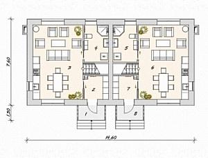Дом в Английском стиле от компании Peura - Keystone Lane
