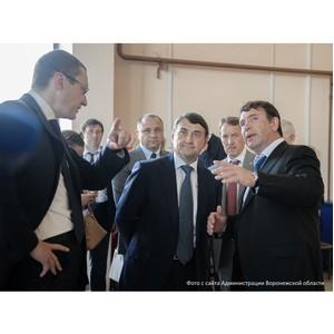 Водоподъемную станцию «РВК-Воронеж» посетила рабочая группа Госсовета России