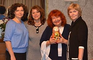 Коллекция «Матрешка-образ» фонда «Миссия» на форуме в Словакии