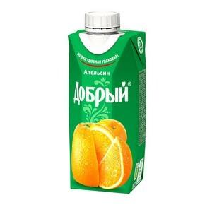 Запущено производство соков и нектаров «Добрый» в упаковке Tetra Prisma® aseptic 330 Ml Square
