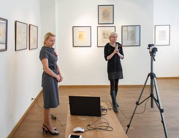 В Кузбассе состоялся телемост между музеем изобразительных искусств и воспитательной колонией
