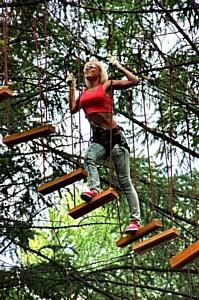 """1-го июня - азарт, риск и приключения  в веревочных парках развлечений """"Гамми"""". Подарки - всем!"""