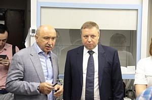Ильшат Гафуров продемонстрировал делегации IBM инновационные возможности Казанского университета
