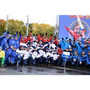 Полиция Зеленограда успешно выступила на юбилейном спортивном празднике в Лужниках