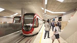 Комбайны Sandvik MT720 на строительстве легкого метро Confederation Line в Оттаве