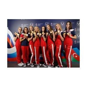 На церемонии награждения в Доме болельщиков в Баку отметили успехи омских гимнастов и акробатов