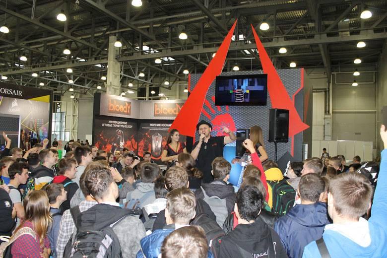 A4Tech приняла участие в выставке «ИгроМир 2017»