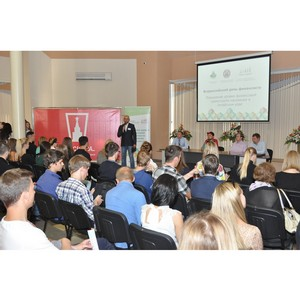 Активисты ОНФ в Алтайском крае провели семинар финансовой грамотности для студентов-первокурсников