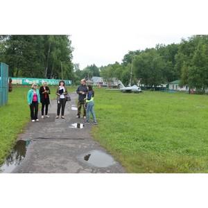 Активисты ОНФ в Мордовии проверили организацию отдыха детей в оздоровительном лагере «Изумрудный»