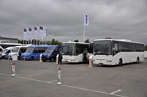 Автобусы Iveco на выставке «Мир автобусов-2016»