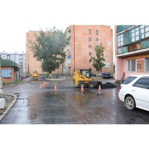 Активисты ОНФ в Туве взяли на контроль ситуацию с благоустройством улицы Ангарский бульвар в Кызыле