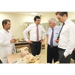 КФУ посетили представители компании LEEC – ведущего производителя оборудования для судебной медицины
