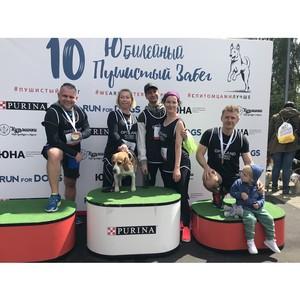 Компания-застройщик Optiland приняла участие в благотворительном забеге