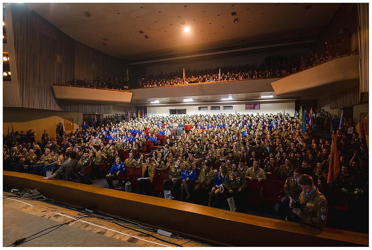 Бойцы ССО «Эйдос» Рубцовского института на краевом слете студенческих отрядов