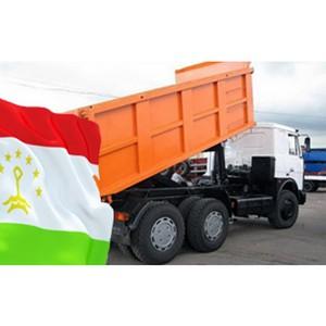 Гуманитарная помощь от МАЗа для Таджикистана