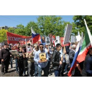 Активисты ОНФ в Чечне приняли участие в торжественных мероприятиях, посвященных Великой Победе