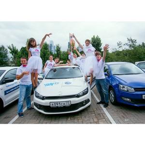 Свадебные приключения за рулем Volkswagen